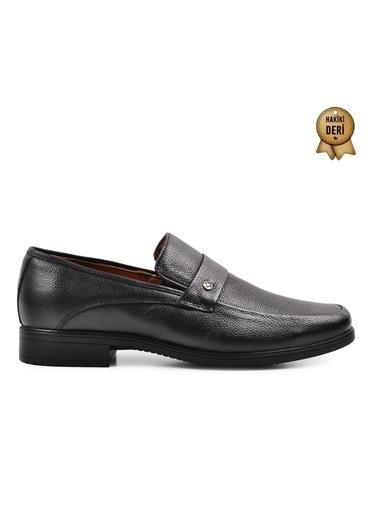 Ayakmod 715 Siyah Erkek Hakiki Deri Ayakkabı Siyah